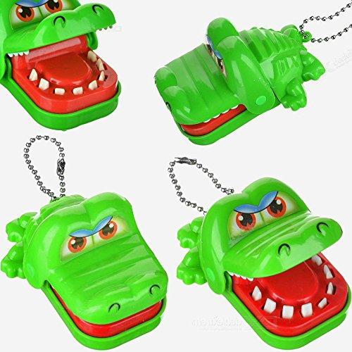 German Trendseller® - Krokodil Zähne Zieh Kinderspiel ┃ Mitgebsel ┃ Kindergeburtstag┃ Kinderspiel ┃ Vorsicht Bissig !!!