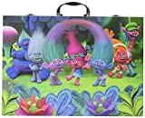 Crayola Dreamworks Trolls Glitter Scrapbook Kit, 115+ Pieces Art Gift for Kids 5 & Up, Includes Crayons, Markers, Colored Pencils, Glitter Glue, Glue Stick, Coloring Pages, Paper, Stickers & Sharpener