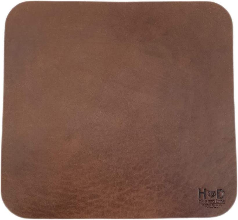 Hide & Drink, Thick Leather Durable Mouse Pad