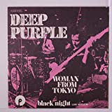 woman from tokyo / black night (live version) 45 rpm single