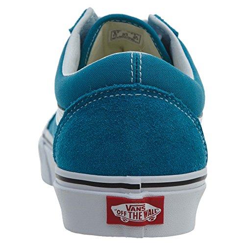 Enamel Adults' Blue Trainers White Unisex Low Skool Old True Top Vans 0OTgR
