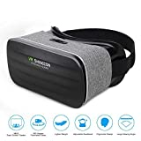 Pansonite 3D VR Glasses Virtual Reality Headsets for Movie & Gaming Goggles With Multifocal HD Tech & Large Viewing Field Fit For iPhone/Samaung Galaxy/Note/Edge /LG Etc.