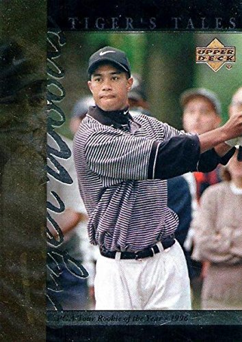 - Tiger Woods Golf Card (1996 PGA Tour Rookie of the Year) 2001 Upper Deck #TT14
