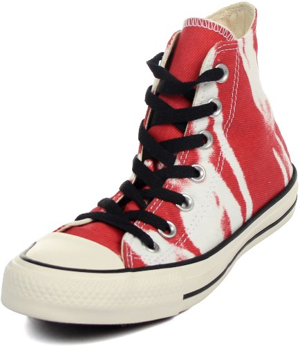 Converse - - Chuck Taylor All Star Hi Chaussures, EUR: 36.5, Red