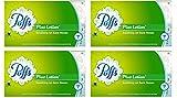 Puffs Plus Lotion Facial Tissues, 4 Family Boxes, 124 Tissuesper Box