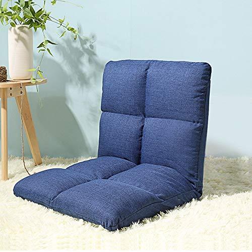 ZXL@ED Sofa Taburete Sofa ligero y grueso Sofa simple y moderno Silla plegable reclinable de un solo asiento l/