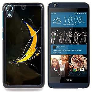 """Raiders"""" - Metal de aluminio y de plástico duro Caja del teléfono - Negro - HTC Desire 626 626w 626d 626g 626G dual sim"""