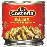 la Costeña, la Costeña Chile Jalapeño Rajas 380 Gr, 380 gramos