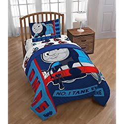 Thomas The Tank Engine 4pc Twin Comforter and Sheet Set