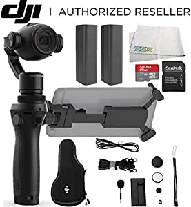 DJI OSMO+ Plus Handheld Fully Stabilized 4K Camera Ultimate Bundle