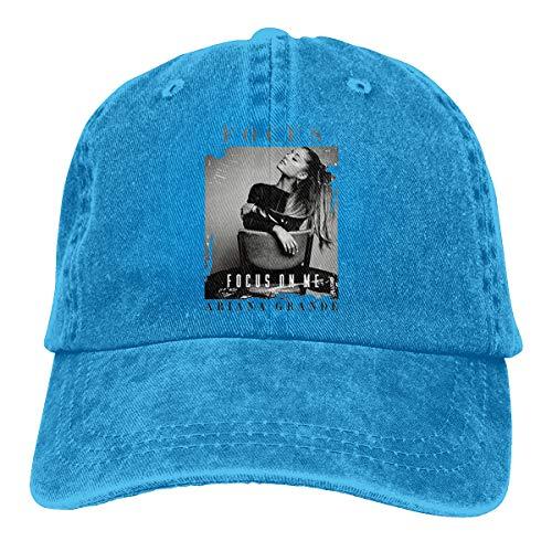 Ariana Grande Focus On Me Womens Mans Chapeau Blue -