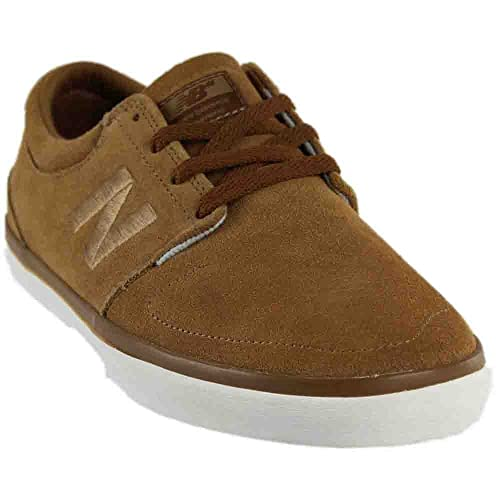 differently f10b7 6da9a New Balance Numeric Brighton 344 Brown Suede Shoe (UK7): Amazon.co ...
