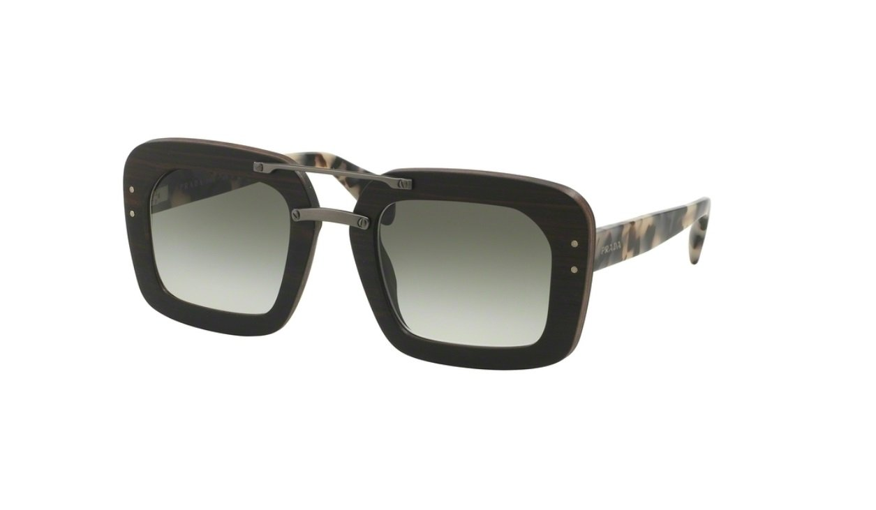 90406baa4fe6 Amazon.com: Prada PR30RSF - UBT0A7 Raw Wood Sunglasses 51mm: Sports &  Outdoors