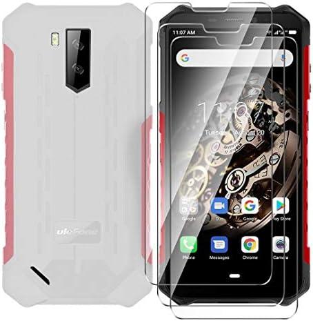 HYMY Funda para Ulefone Armor X3 Blanco Lechoso Translúcido + 3X Vidrio Templado Protectores Pantalla: Amazon.es: Electrónica