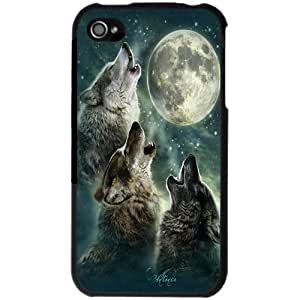 Three Wolf Moon iPhone 4 Case for iPhone 4/4S - Black