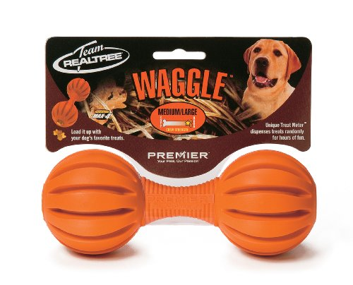 Premier Real Tree Waggle, Medium/Large, Blaze Orange, My Pet Supplies
