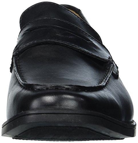 Clarks Mens Façon Tilden Penny Loafer Cuir Noir