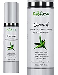 Facial Moisturizer   All Natural and Organic Face Moisturizing Cream   Anti Aging, Anti Wrinkle   For Sensitive, Oily, Severely Dry or Combination Skin   For Women and Men   by Kaiame Naturals