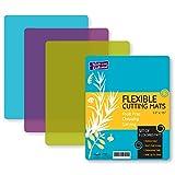 Flexible Plastic Cutting Board Mats set, Colorful