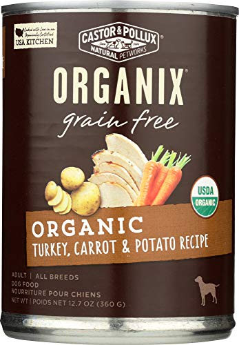 (NOT A CASE) Organix Grain Free Turkey with Carrot & Potato Canned Dog Food