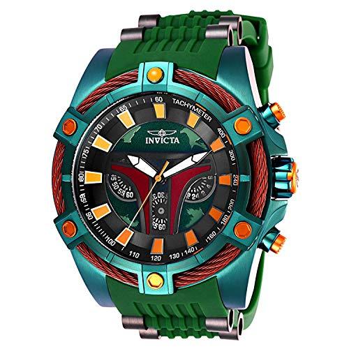 Invicta Star Wars Men's 54mm Bolt Viper Limited Edition Quartz Chronograph Boba Fett Watch w/ 3-Slot Star Wars Dive Case