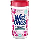 wet ones dispenser - WET ONES Antibacterial Hand Wipes, Fresh Scent 40 ea (Pack of 12)