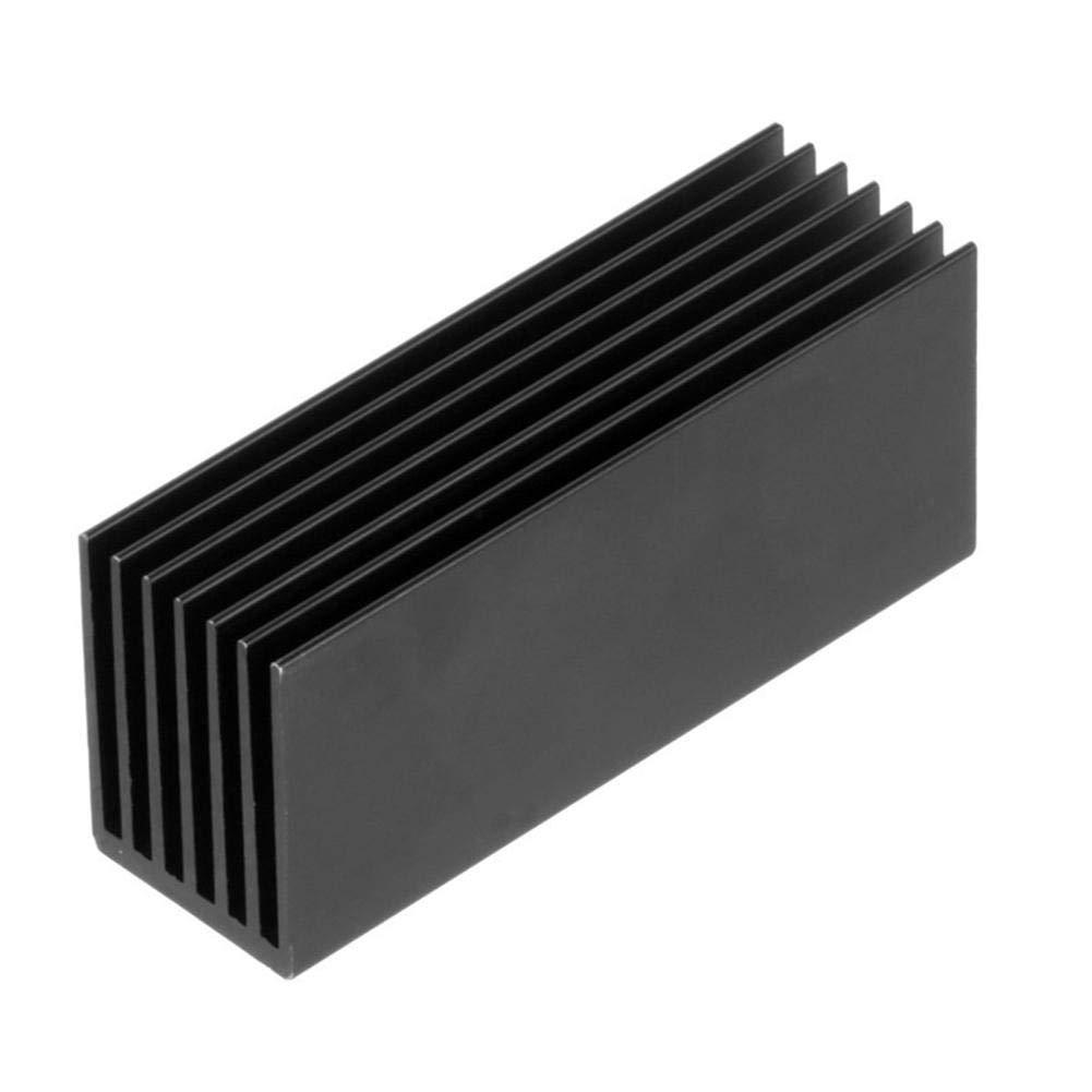 liuxi9836 Aluminium SSD K/ühlk/örper M.2 K/ühlung W/ärmeableitung Solid State Hard Drive K/ühler f/ür SSD
