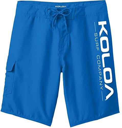 (Koloa Surf Co(tm) Logo Brand Boardshorts in Young Mens Waist Sizes 28-42)