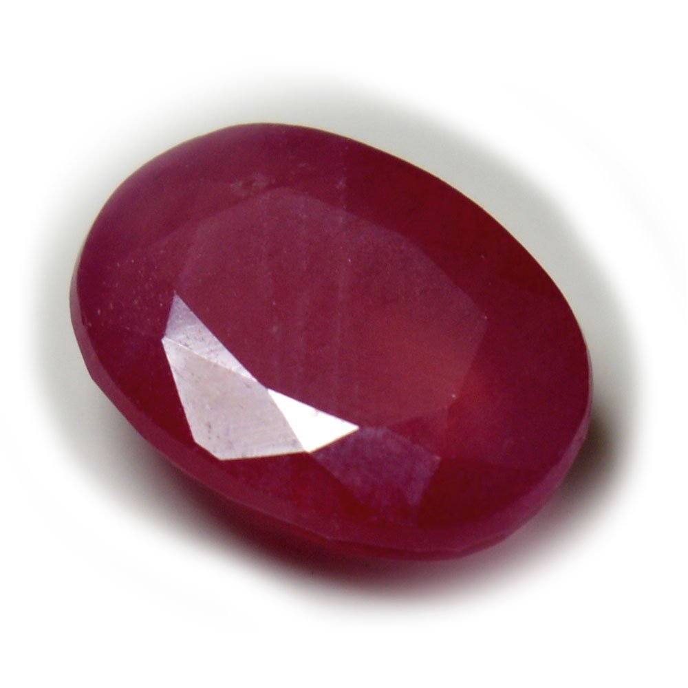 Natural Pink Ruby Loose Gemstone Faceted 4.5 Carat Oval Shape Chakra Healing July Birthstone Astrological AA+ 55Carat 55RUBYOVLP-7