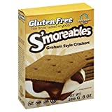 Kinnikinnick, Smoreable Graham Style Crackers, Wheat Free, Gluten Free, 8-Ounce (Pack of 6) ( Value Bulk Multi-pack)
