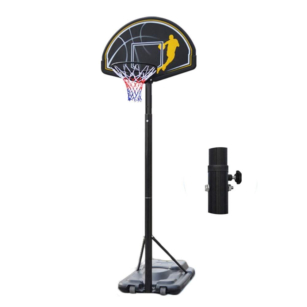 WENZHE バスケットゴール ポータブル バスケットボール用ゴール バスケットボード バスケットボール スタンド 大人/若者 アウトドア 屋内 モーション ボールラック、 高さ調整可能 96-120