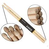 Best Drumsticks Woods - Drum Sticks 5A Wood Tip Drumstick Review