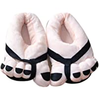 Bollysky Cute Home Shoes, Unisex Soft Plush Big Feet Cute Cartton Lovers Couple Shoes Winter Slipper Shoes for Cold Weather