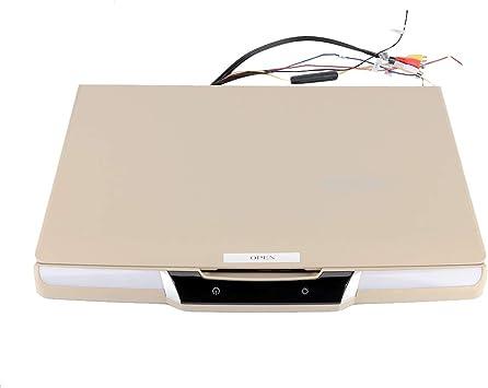 TV montada en el automóvil, HD 1080P TV de Techo de automóvil de 17.3 Pulgadas, para Furgonetas MPV para CV de autobuses de pasajeros: Amazon.es: Electrónica