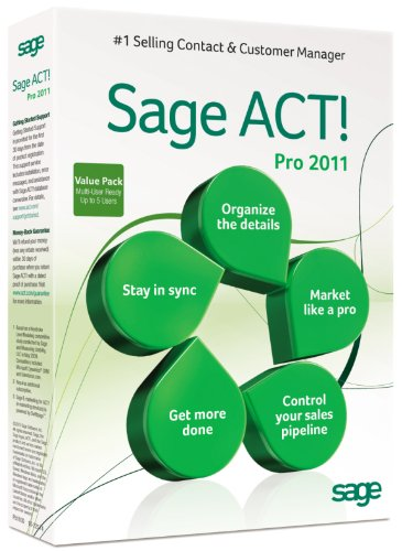 Sage ACT! Pro 2011 Multi-User Edition