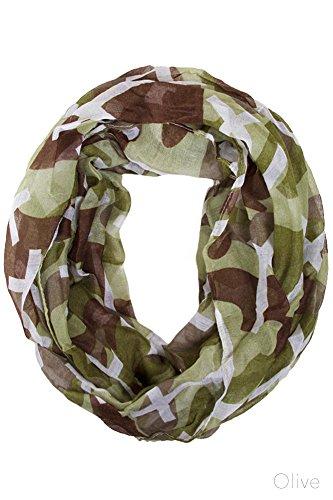 ScarvesMe Fashion Camouflage Military Infinity