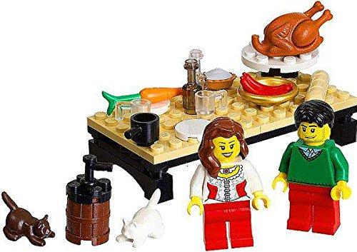 LEGO Seasonal Set #40056 Thanksgiving Feast Bagged