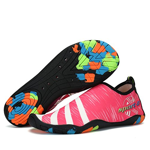 Men Women Water Shoes Multifunctional Quick-Dry Aqua Shoes Lightweight Swim Shoes with Drainage Hole