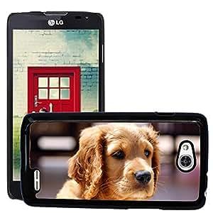 Super Stella Slim PC Hard Case Cover Skin Armor Shell Protection // M00148884 Animal Dog Pet Puppy Portrait // LG Optimus L90 D415