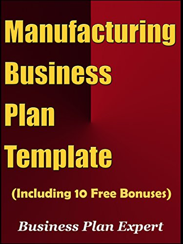 Amazon manufacturing business plan template including 10 free manufacturing business plan template including 10 free bonuses by plan expert business wajeb Images