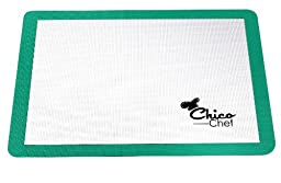 ChicoChef Large Silicone Pastry Mat with Measures - 24.5\