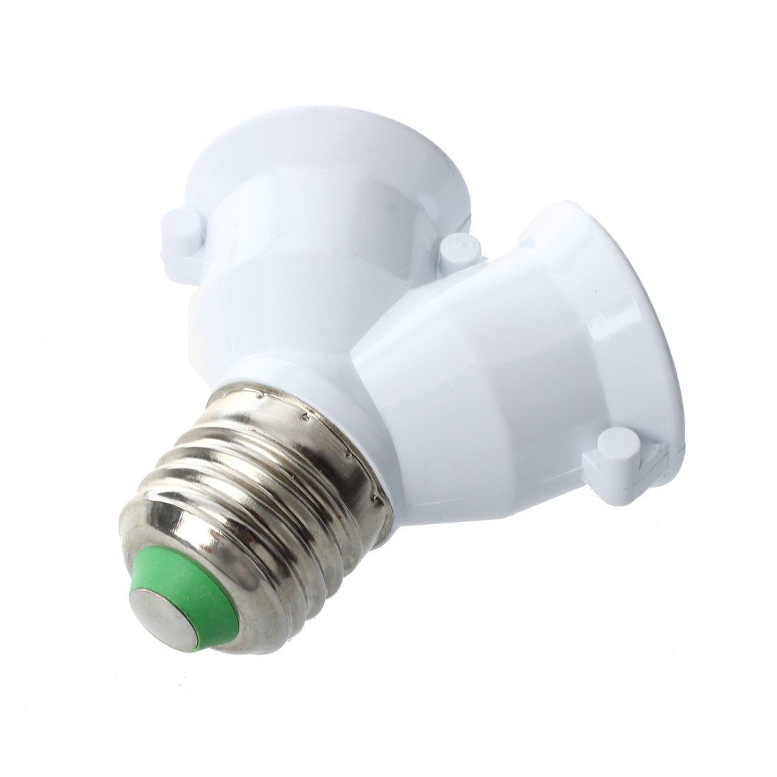 5 x Doppellampen Adapter LED-Lampe E27 Fassungen TOOGOO R