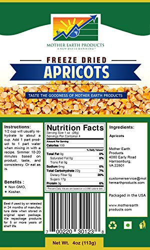 freeze dried apricots - 2