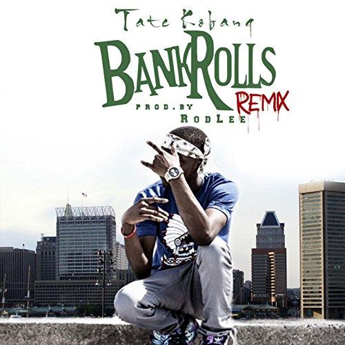 Bank Rolls (Remix) [Explicit] by Tate Kobang on Amazon Music