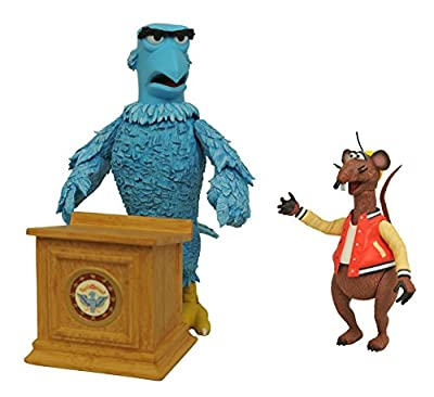 Diamond Select Toys The Muppets Sam & Rizzo Select Action Figure
