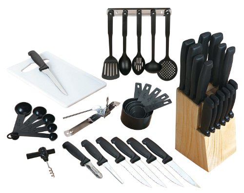 Cookware Essentials Kitchen - Gibson Cuisine Select Flare 41-Piece Cutlery Combo Set