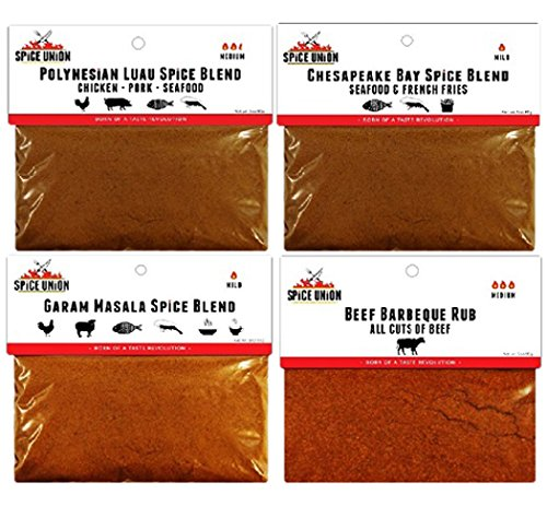 Spice Union Globetrotter Spice Blend Gift Set, 12 Ounce