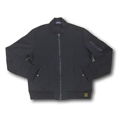 Mens bomber jacket polo