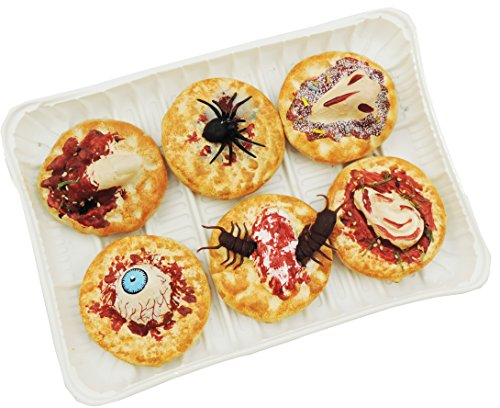 Scary Halloween Monster Cookies With Tray -