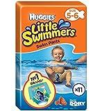 Baby Grow Huggies Little Swimmers Swim Pants (12-18kg, 5-6) - Pack of 11